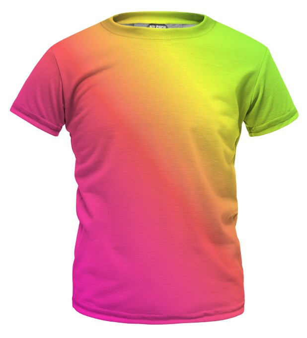Summer Ombre t-shirt for kids Miniature 1