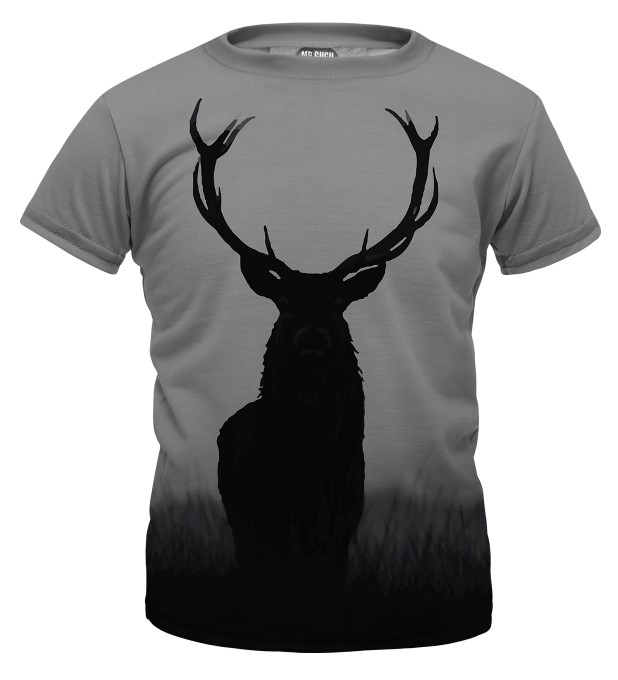 Wild deer t-shirt for kids Miniature 1