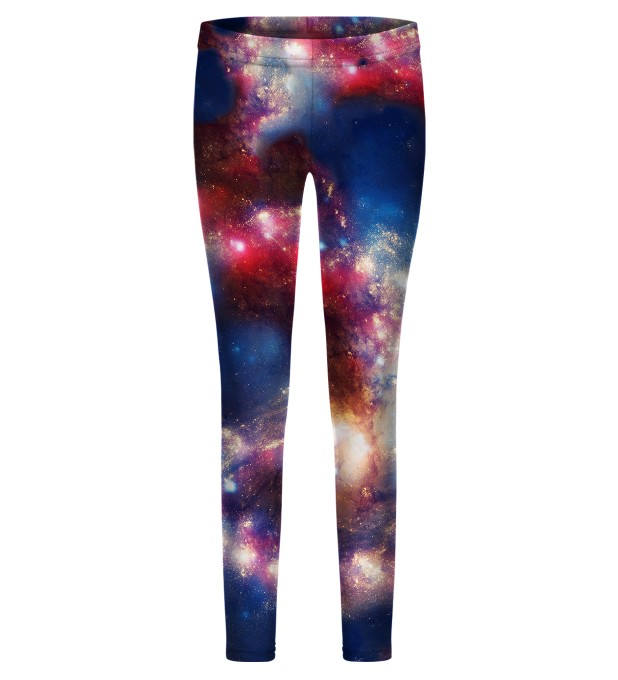 Red Blue Nebula leggings for kids аватар 1