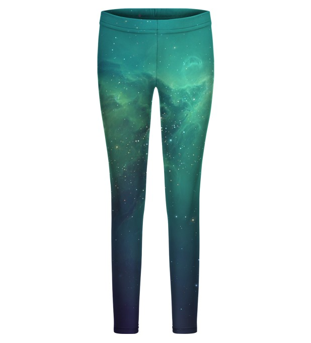 Blue Nebula leggings for kids Thumbnail 1