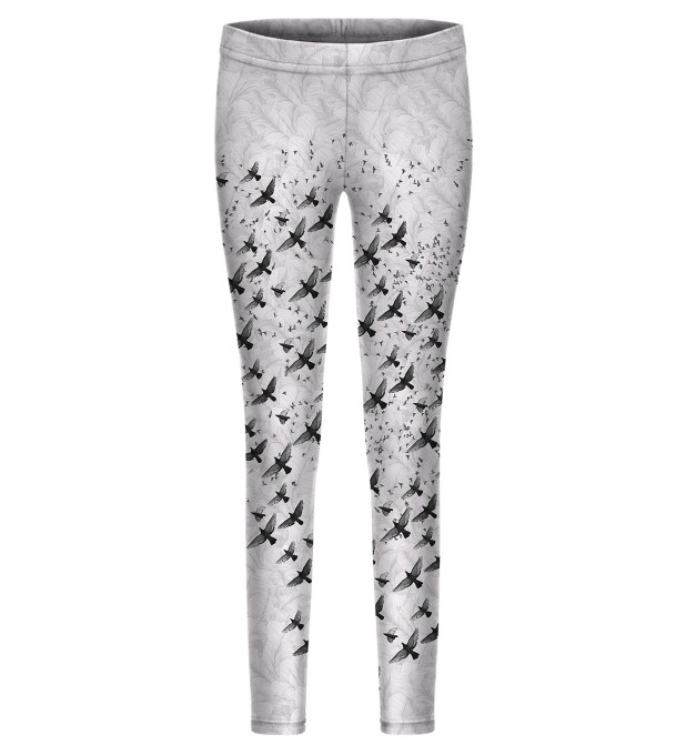 Birds leggings for kids Thumbnail 1