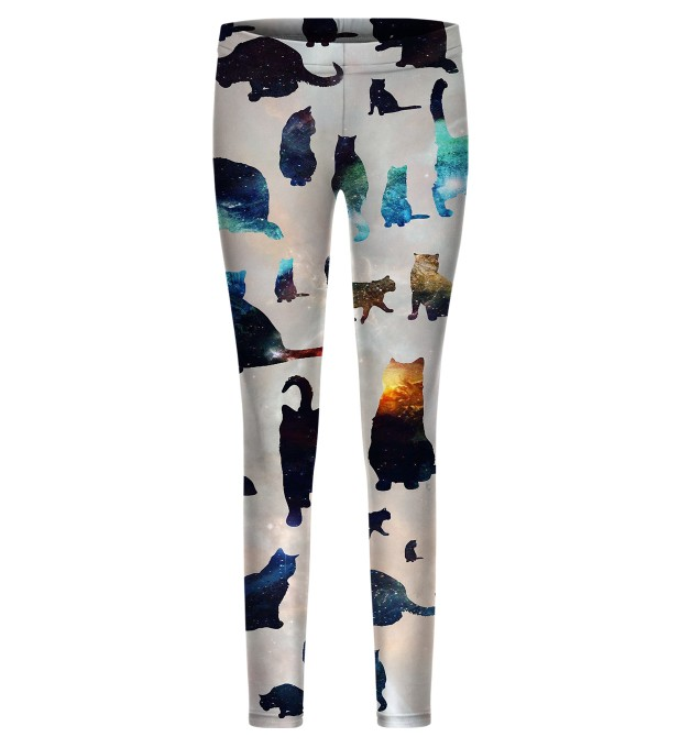 Galaxy Cats i leggings per i bambini Miniatura 1