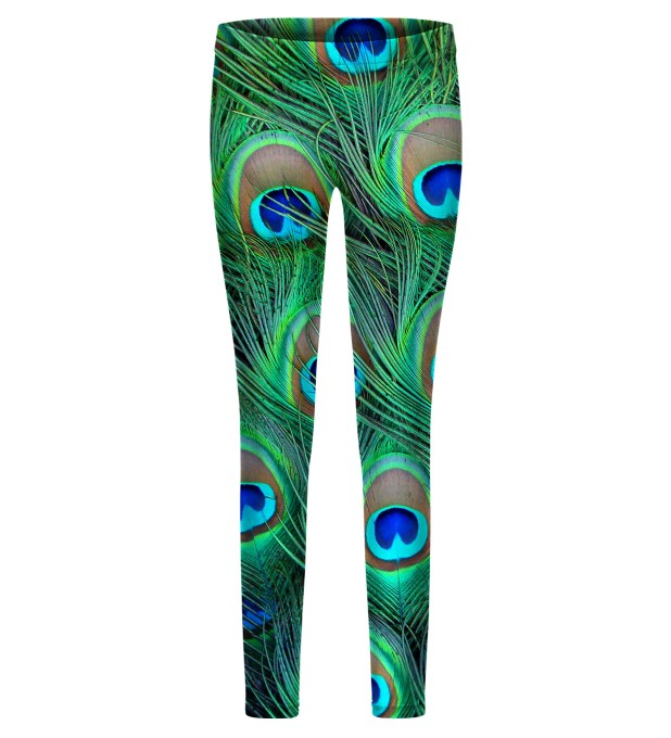 The Night Eye of the Peacook leggings for kids Miniatura 1
