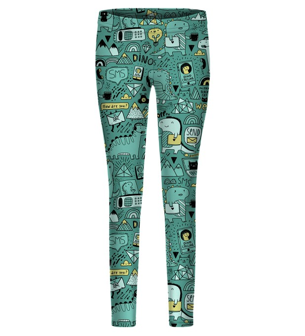 Dino Tech leggings for kids Miniatura 1