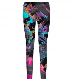 Mr. Gugu & Miss Go, Space colours leggings for kids Miniatura $i