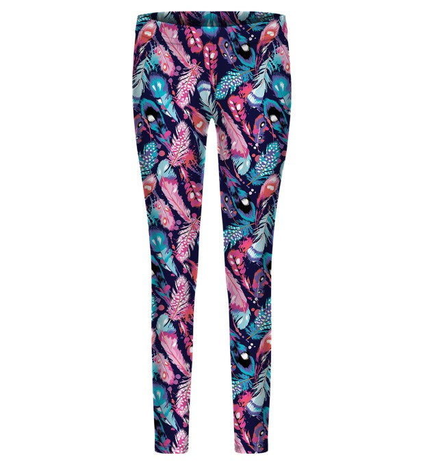 Colorful Feathers i leggings per i bambini Miniatura 1