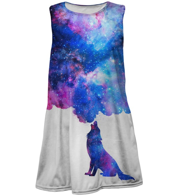 Howling to galaxy summer dress for kids Thumbnail 1