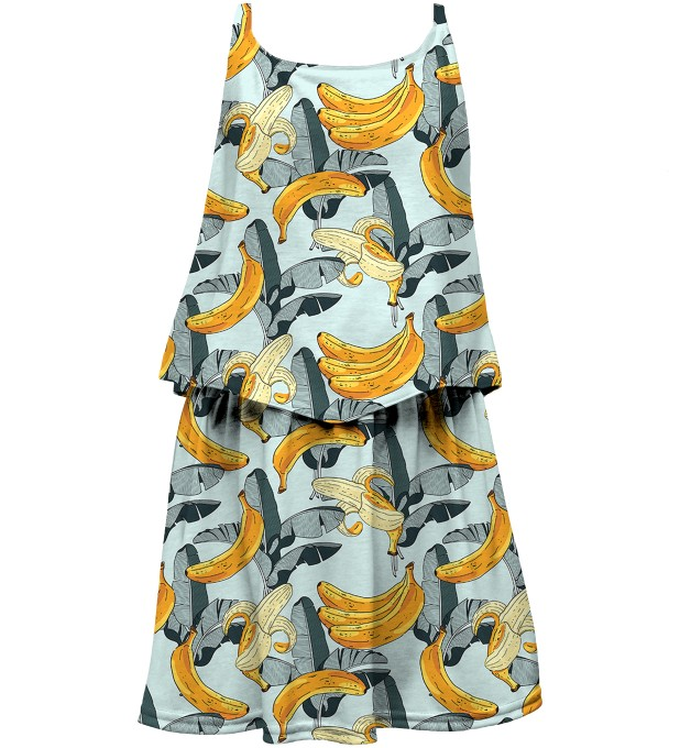 Banana World layered dress for kids Thumbnail 1
