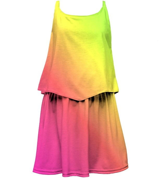 Summer Ombre layered dress for kids Thumbnail 1