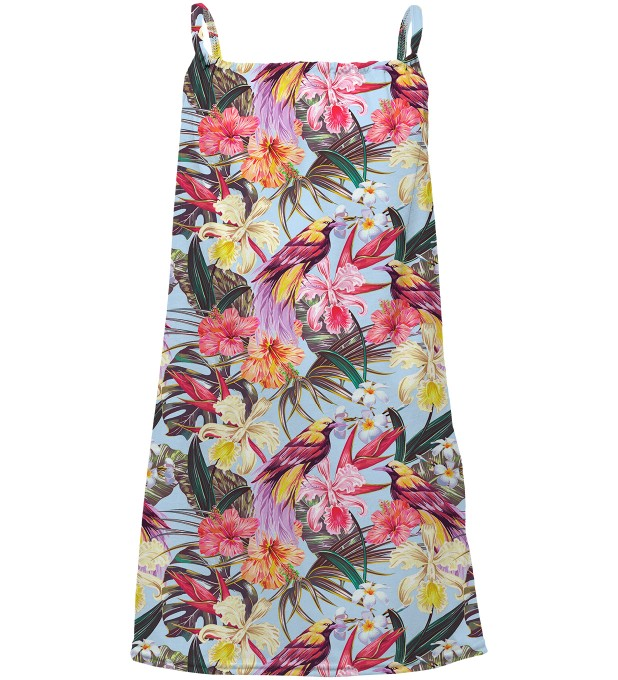 Tropical Beauty sleeveless dress for kids Miniatura 1