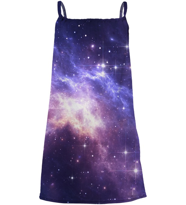 Lightning in Space sleeveless dress for kids Miniatura 1