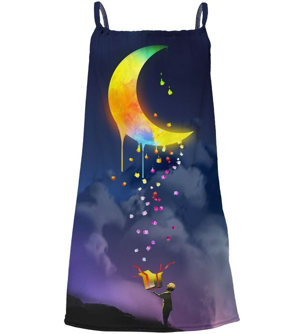 Gifts from the Moon sleeveless dress for kids Miniatura 1