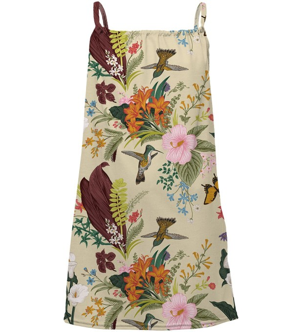 Nature sleeveless dress for kids Miniatura 1