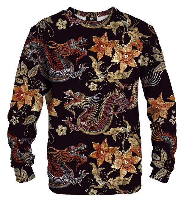 Japanese Dragon sweatshirt  Miniaturbild 1