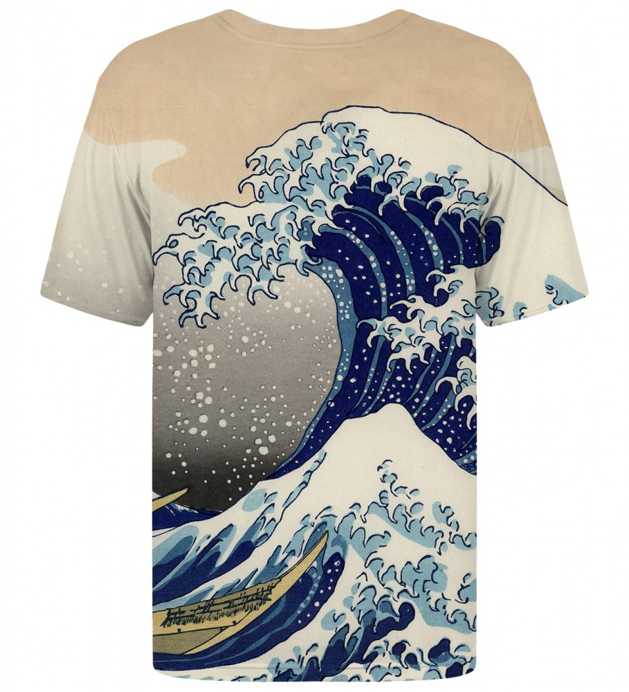 Mr. Gugu & Miss Go, Kanagawa Wave t-shirt  Image $i