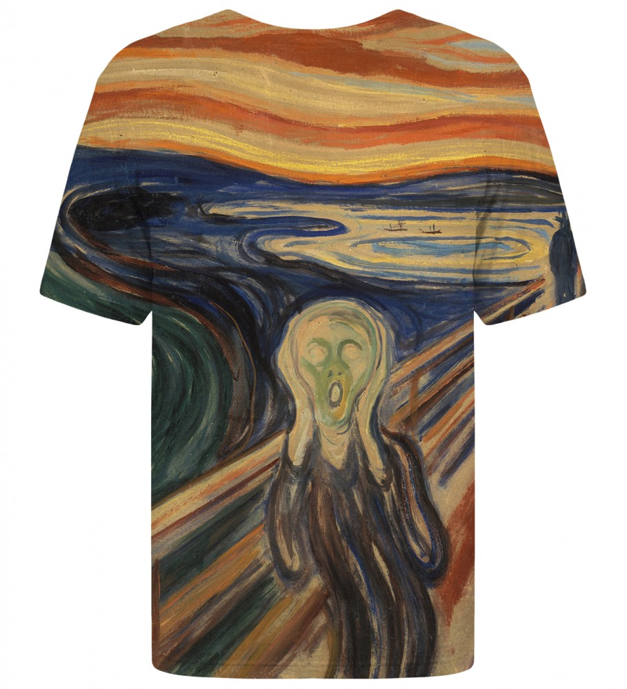 Mr. Gugu & Miss Go, The Scream t-shirt Image $i