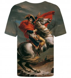 Mr. Gugu & Miss Go, Napoleon Crossing the Alps t-shirt Thumbnail $i