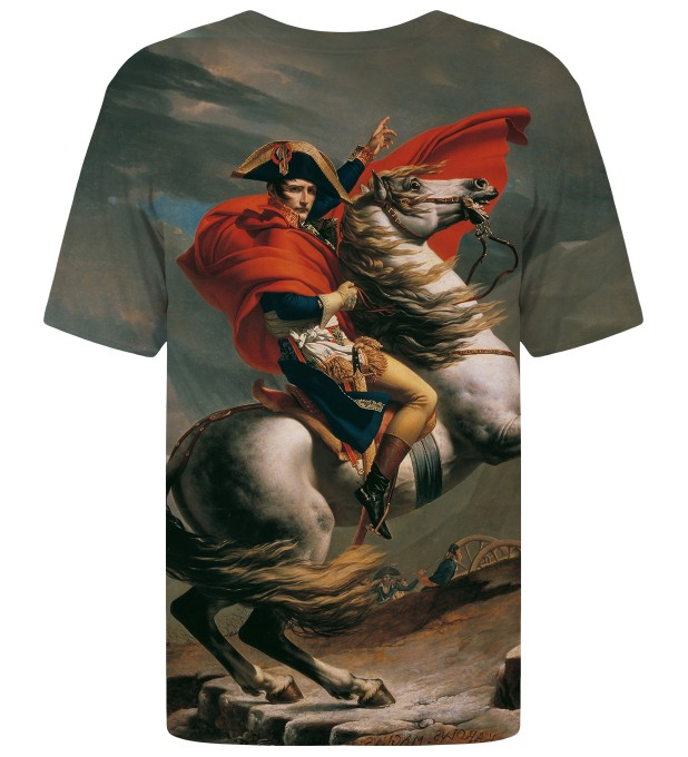 Napoleon Crossing the Alps t-shirt Miniatura 2