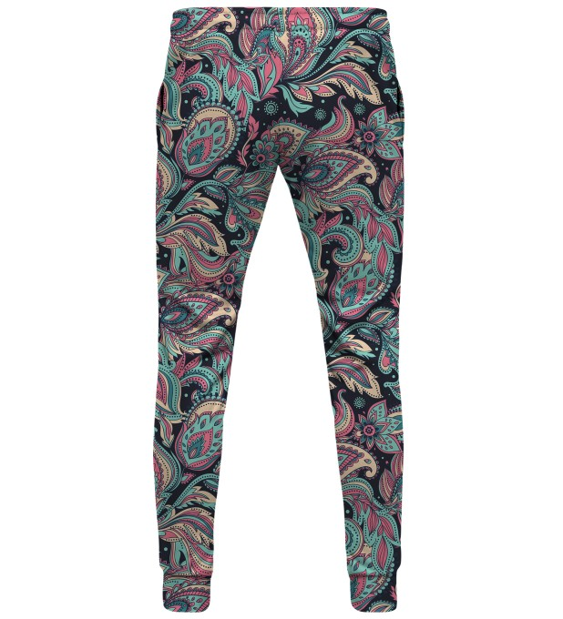 Fractal Pattern sweatpants Miniature 2