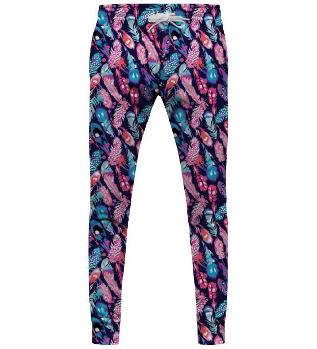 Colorful Feathers sweatpants Miniature 1