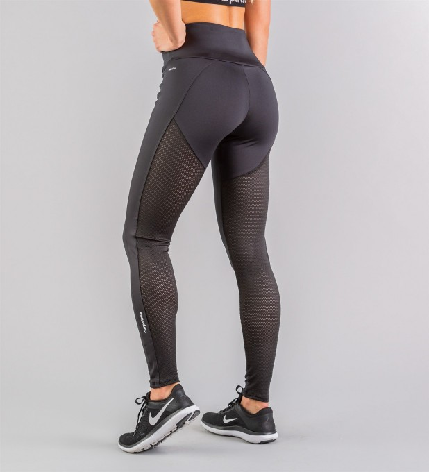 Hyperion Black Performesh Leggings Miniature 2