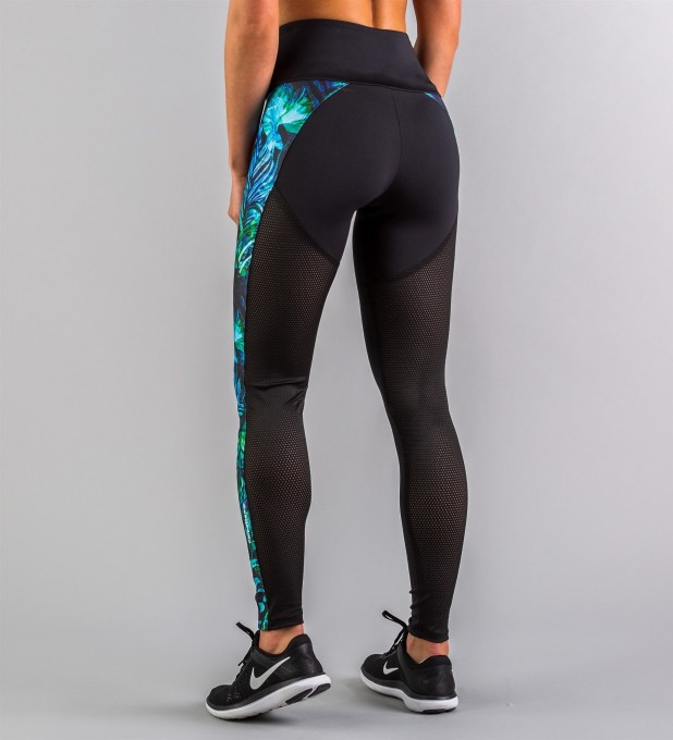 Hyperion Floral Performesh Leggings Thumbnail 2