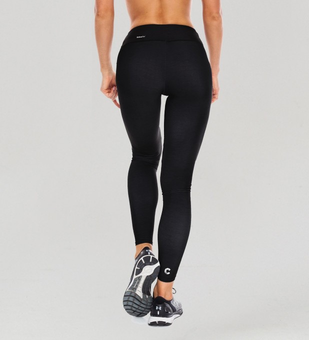 Full Black Classic Leggings Thumbnail 2