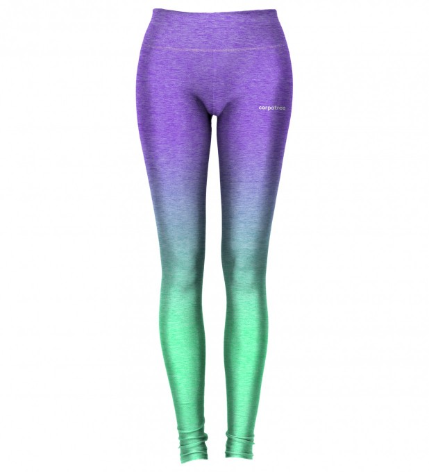 Purple Mint Ombre leggings Miniature 2