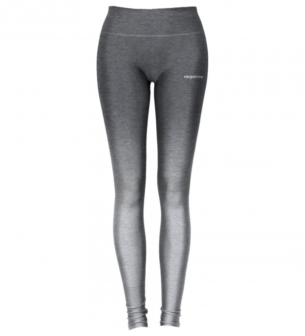 Charcoal Grey Ombre leggings Miniature 1