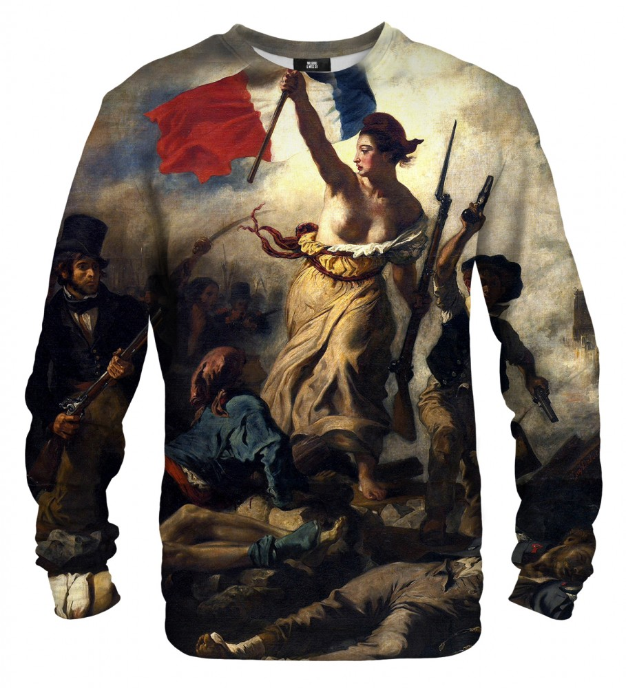 Mr. Gugu & Miss Go, Liberty Leading the People sweater Image $i