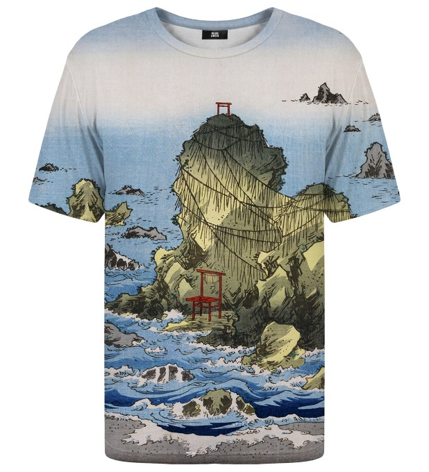 Futamigaura in Ise Province t-shirt Thumbnail 1