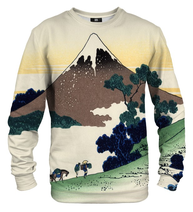 Inume pass in the Kai province sweater Miniature 1