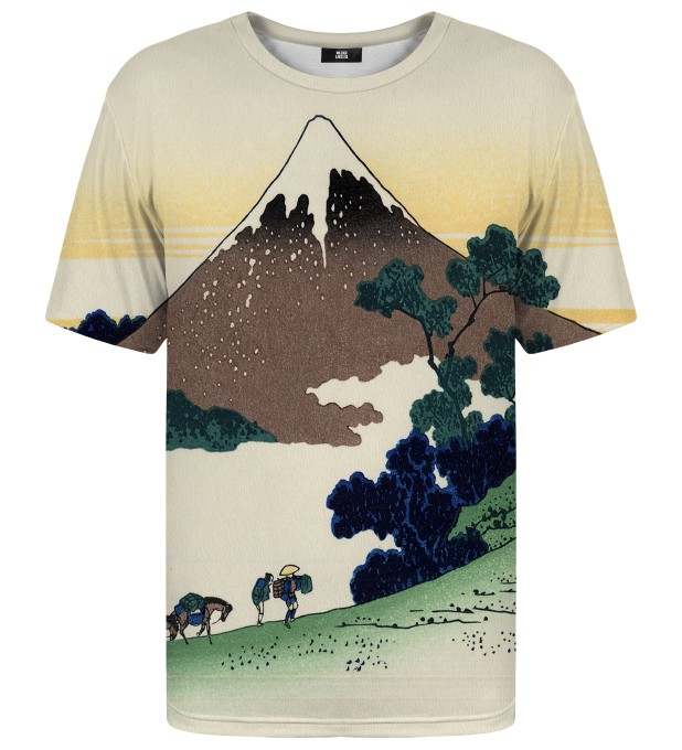 Inume pass in the Kai province t-shirt Miniatura 1
