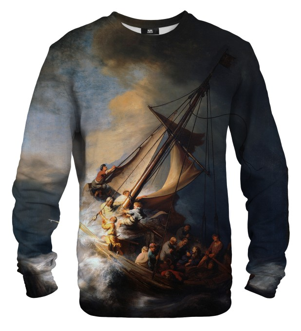 Christ in the Storm on the Lake of Galilee sweater Thumbnail 1