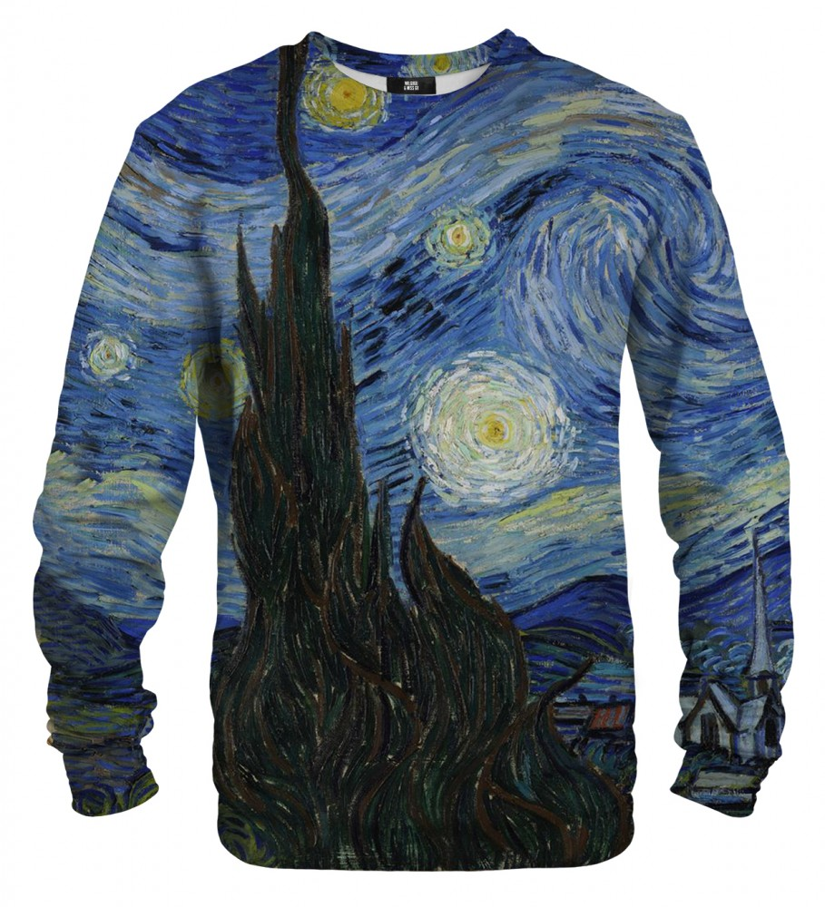 Mr. Gugu & Miss Go, The Starry Night sweater Image $i