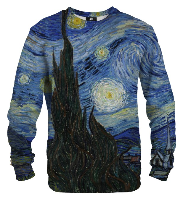 Bluza ze wzorem The Starry Night Miniatury 1