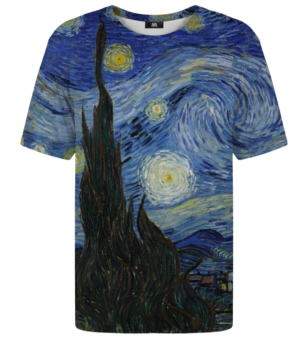 The Starry Night t-shirt Miniature 1