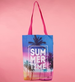 Mr. Gugu & Miss Go, Summer Time beach bag Miniature $i