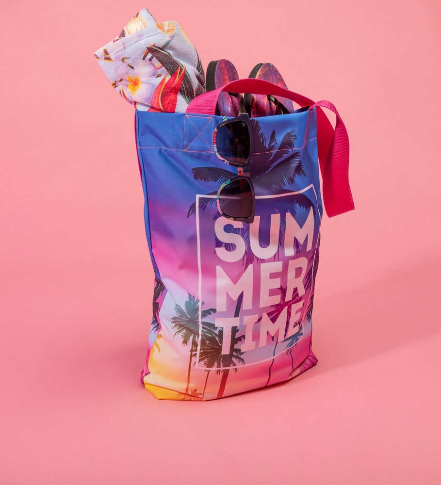 Mr. Gugu & Miss Go, Summer Time beach bag Image $i
