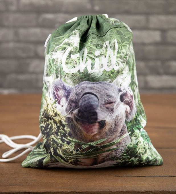 Koala chill drawstring bag Thumbnail 1