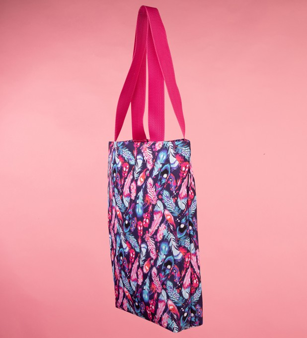 Colorful Feathers beach bag аватар 2