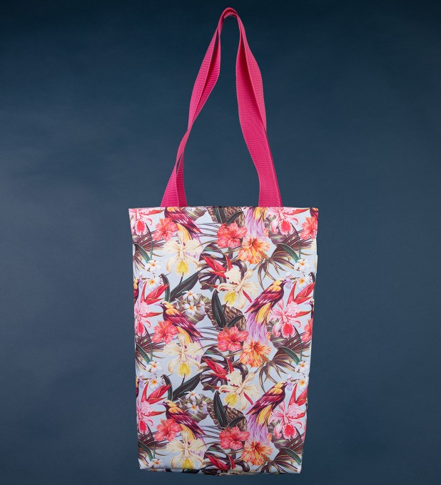 Tropical Beauty beach bag Miniature 1