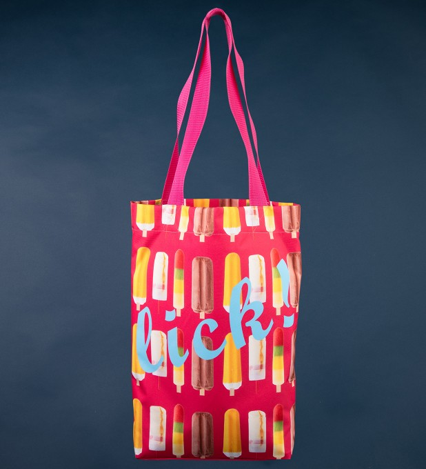 Pink Ice Cream beach bag Thumbnail 1