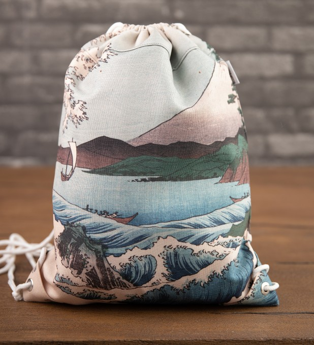 The Sea of Satta drawstring bag Thumbnail 2
