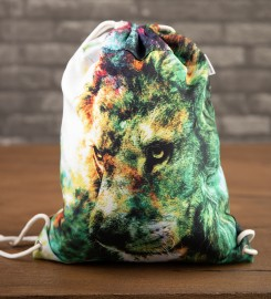 Mr. Gugu & Miss Go, King of Colors drawstring bag Thumbnail $i