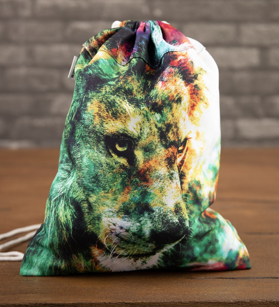 Mr. Gugu & Miss Go, King of Colors drawstring bag Image $i