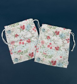 Mr. Gugu & Miss Go, Flowers Sketch underwear bag Miniaturbild $i
