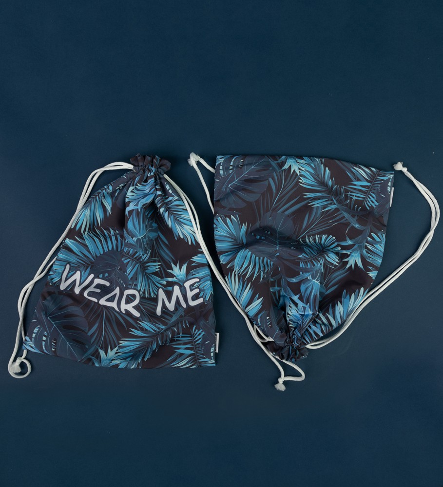 Mr. Gugu & Miss Go, Paradise is here underwear bag Image $i