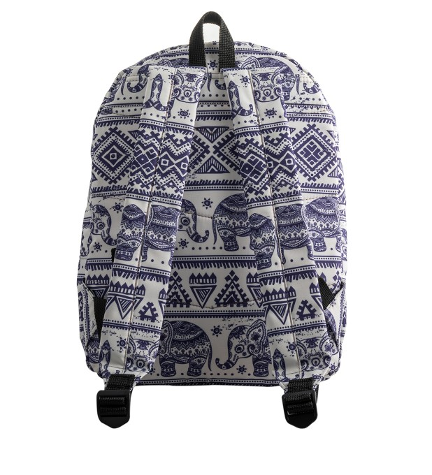 Elephants Pattern backpack Miniaturbild 2