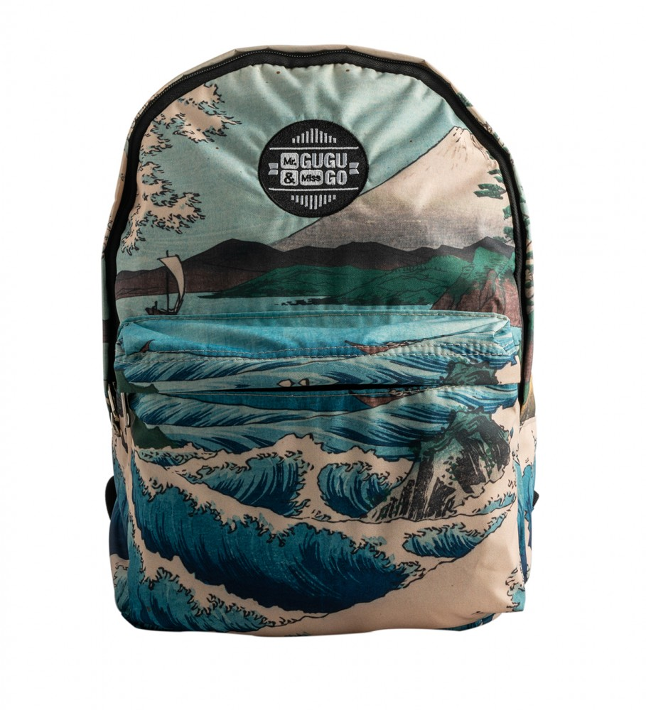 Mr. Gugu & Miss Go, The Sea of Satta backpack Image $i